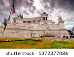 rome  italy   april 3  2019 ... | Shutterstock . vector #1372377086