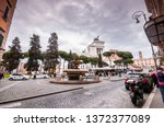rome  italy   april 3  2019 ... | Shutterstock . vector #1372377089