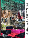market stall at argentinian... | Shutterstock . vector #1372377146