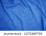 linen fabric denim blue... | Shutterstock . vector #1372385750