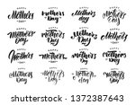 vector illustration  big set of ... | Shutterstock .eps vector #1372387643