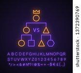 double elimination tournament... | Shutterstock .eps vector #1372390769