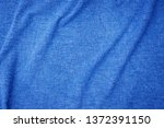 linen fabric denim blue... | Shutterstock . vector #1372391150