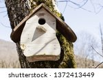 Light Wooden Nesting Box Close...