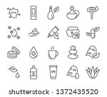 set of skin icons  such as... | Shutterstock .eps vector #1372435520