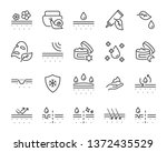 set of skin icons  such as... | Shutterstock .eps vector #1372435529