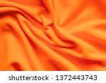 texture of vibrant orange... | Shutterstock . vector #1372443743