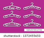 set of decorative clothes...   Shutterstock .eps vector #1372455653