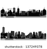 vector illustration.city... | Shutterstock .eps vector #137249378