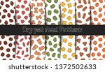 collection of patterns. vector... | Shutterstock .eps vector #1372502633