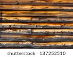 wooden wall | Shutterstock . vector #137252510