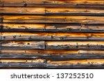 wooden wall | Shutterstock . vector #137252510