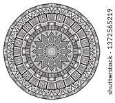 mandalas for coloring book   Shutterstock .eps vector #1372565219
