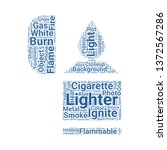 lighter word cloud. tag cloud... | Shutterstock .eps vector #1372567286