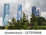 madrid  spain 1 may  cuatro...   Shutterstock . vector #137259848