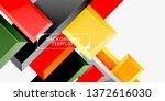 glossy arrows geometric...   Shutterstock .eps vector #1372616030