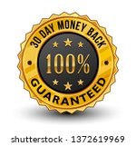 very strong and powerful 100 ... | Shutterstock .eps vector #1372619969