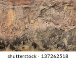 ancient wall  background ... | Shutterstock . vector #137262518
