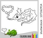 Coloring Book   Small Dragon ...
