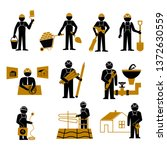 construction site  building a... | Shutterstock .eps vector #1372630559
