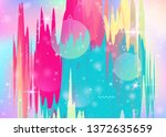 future landscape with... | Shutterstock .eps vector #1372635659