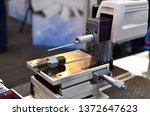 surface roughness tester ...   Shutterstock . vector #1372647623