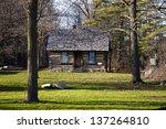 Vintage Log Cabin. Port Sanilac ...