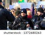 march 8  2019  kiev  ukraine.... | Shutterstock . vector #1372680263