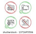 do or stop. quick tips ... | Shutterstock .eps vector #1372695506