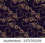 coloured seamless pattern of... | Shutterstock .eps vector #1372702133
