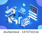 science and technology medical... | Shutterstock .eps vector #1372722116