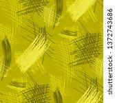 various hatches. seamless... | Shutterstock .eps vector #1372743686