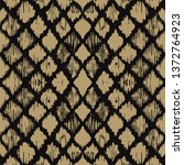 ikat geometric folklore...   Shutterstock .eps vector #1372764923