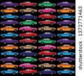 diecast vector toy car  vector... | Shutterstock .eps vector #1372771463