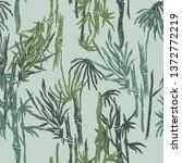 jungle seamless pattern with... | Shutterstock .eps vector #1372772219