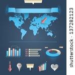 modern infographics. eps10 ... | Shutterstock .eps vector #137282123