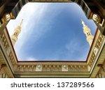 Inner Court Of Prophet's Mosque