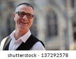 candid shot of waiter in grande ... | Shutterstock . vector #137292578