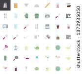 kitchen utensils elements...   Shutterstock .eps vector #1372935050