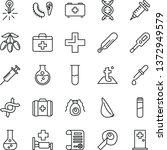 thin line vector icon set  ... | Shutterstock .eps vector #1372949579