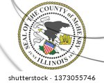 3d seal of mchenry county ...   Shutterstock . vector #1373055746