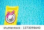 beach summer holiday background....   Shutterstock . vector #1373098640
