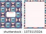 set of vector backgrounds for...   Shutterstock .eps vector #1373115326