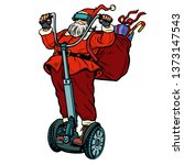 Santa Claus In Vr Glasses  With ...