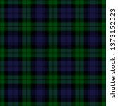 Black Watch tartan plaid. Royal Regiment of Scotland textile pattern.