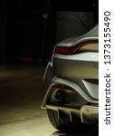 Modern Sports Car Tail Light...