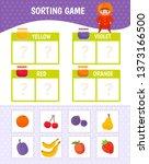 educational game for children... | Shutterstock .eps vector #1373166500