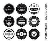 retro label vector | Shutterstock .eps vector #1373172086