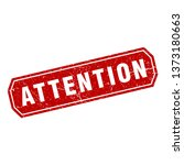 attention icon vector | Shutterstock .eps vector #1373180663
