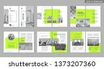 brochure creative design.... | Shutterstock .eps vector #1373207360